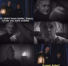 This is beautiful. It perfectly sums up Draco's transformation.