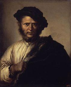 Portrait d'homme, par Salvator Rosa (1640)