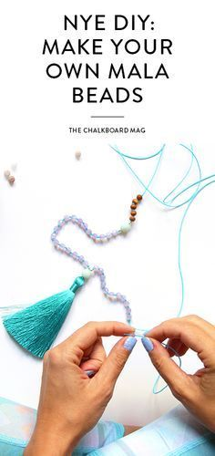 How to Make Mala Beads - Step-by-Step DIY Guide Learn how to craft your very ow. How to Make Mala Beads – Step-by-Step DIY Guide Learn how to craft your very own set of mala bea Handmade Necklaces, Handmade Jewelry, Beads For Sale, Spiritual Jewelry, Bead Crafts, Bead Weaving, Beaded Jewelry, Jewellery, Crochet Earrings