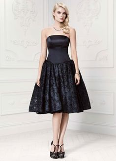 Short  Satin and Soutache Dress ZP281426