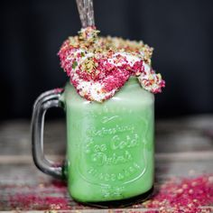 Make your milkshake guilt-free and full of green goodness! This delicious, fibre-rich power milk, created by the fabulous foodie Nadia from Eat Better Not Less
