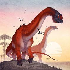 Prehistoric Life by Johan Egerkrans Dinosaur Drawing, Dinosaur Art, Dinosaur Crafts, Dinosaur Images, All Dinosaurs, Jurassic Park World, Extinct Animals, Prehistoric Creatures, Creature Concept