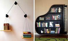 20 Most Creative Bookshelves Ever