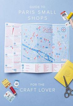 Little Paris Map. Dm Poster, Web Design, Leaflet Design, Tourist Map, Paris Map, Travel Maps, City Maps, Grafik Design, Design Thinking