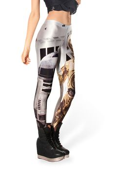 Do you want to be a special girl? Do you want to be the focus on the crowds? Now, the chance is coming! Our Newest Star Wars Galaxy Leggings is fashioning now! All of its designs are sure to help you