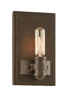 Buy the Troy Lighting Shipyard Bronze Direct. Shop for the Troy Lighting Shipyard Bronze Pike Place 1 Light ADA Compliant Wall Sconce and save. Bronze Wall Sconce, Candle Wall Sconces, Wall Sconce Lighting, Fireplace Lighting, Hallway Lighting, Restaurant Bar, Troy Lighting, Lighting Ideas, Lighting Direct