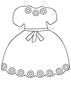 printable clothes templates | Paper Doll Project