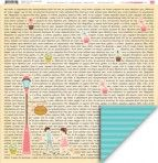 Love Notes double sided 12x12 paper by My Little Shoebox