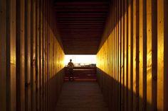 Pavilhão Sealight  / Departamento de Arquitetura da Universidade de Monash © Gary Annett Photography
