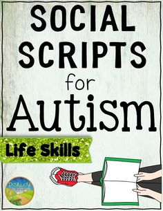 These Social Scripts or Social Stories help kids with autism understand and develop skills for life skills. The scripts focus on doing chores, washing hands, brushing teeth, wearing deodorant, using the bathroom, and more.