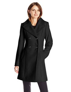 Cole Haan Women's Pressed Wool Double Breasted Coat, Black, 6 Cole Haan http://smile.amazon.com/dp/B00VT63FC4/ref=cm_sw_r_pi_dp_2OCxwb03X2VB5