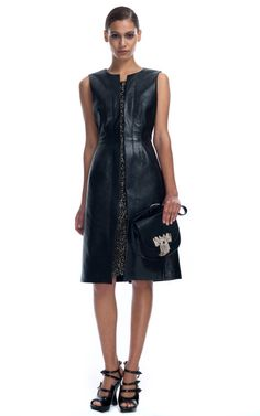 I'm really loving the feminine leather for fall. Got the summer to save for a cute dress!. Loewe