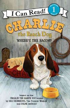 Kids already love Charlie the Ranch Dog from the humorous picture books by Ree Drummond, the Pioneer Woman. Now hard-working, bacon-loving basset hound Charlie is starring in a series of illustrated books for beginning readers. Books For Beginning Readers, New Readers, Charlie The Ranch Dog, I Can Read Books, Bassett Hound, Dog Books, Ree Drummond, Have Time, Childrens Books