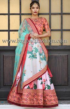 aa71d0af35 160 Best Bridal lehenga images in 2019   Bridal lehenga choli, Green ...