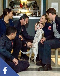 Like Chicago Fire on Facebook