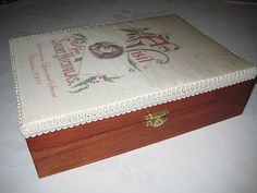 Lynn B 's finishing instructions for cross stitch : Covered box for cross stitch smalls.