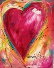 Image result for heart painting