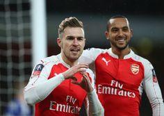 Aaron Ramsey Photos: Arsenal v Sunderland - The Emirates FA Cup Third Round