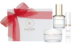 Different plant callus cells do different things. Their Hydra Perfection line uses the ultra-moisturizing benefits of grape callus cells, which are loaded with antioxidants and have been shown to help repair damaged skin. http://canadiangiftguide.com/2014/12/01/find-of-the-month-racinne-skincare/