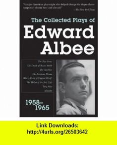 10 best best e book images on pinterest pdf before i die and behavior collected plays of edward albee 1958 1965 9781585678846 edward albee isbn fandeluxe Gallery