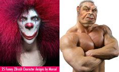 25 Creative and Funny ZBrush Character designs by Marcel. Follow us www.pinterest.com/webneel