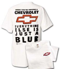 Chevrolet Racing Blur T-Shirt