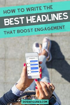 How to write the best headlines that boost engagement on your blog post titles.
