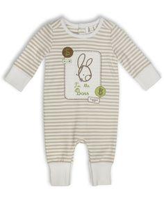 I'm The Boss Romper - Unisex Baby Clothes #baby #babyclothes