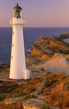 Castle point Lighthouse.: Photo by Photographer Ian Cameron - photo.net