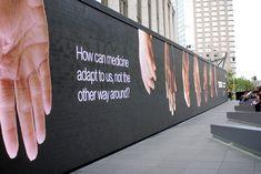 NYC ♥ NYC: IBM THINK Exhibit's Digital Wall at Lincoln Center