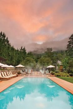 Calistoga Ranch in Napa Valley, California
