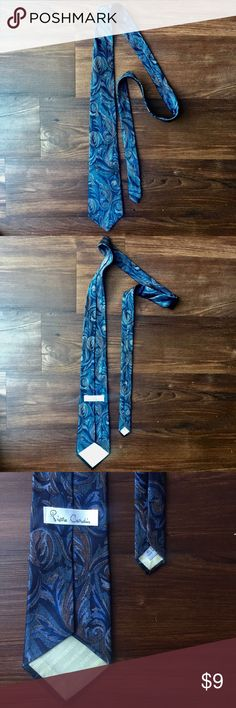 Pierre Cardin Blue Paisley Hand Made Silk Tie This is in excellent preloved Conditions. Perfect tie for any occasion. This is Pierre Cardin Brand, in a blue paisley design. Pierre Cardin Accessories Ties