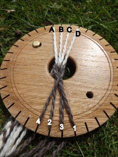 Flax Weaving, Inkle Weaving, Inkle Loom, Card Weaving, Tablet Weaving, Lucet, Yarn Crafts, Sewing Crafts, Finger Weaving