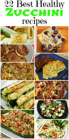Healthy and delicious recipes that will use up your summer's bounty of zucchini. It is zucchini season! That means it is at it's best for taste plus it is cheap to buy. Oh yeah! Summer Recipes, Easy Recipes, Easy Meals, Cooking Recipes, Healthy Recipes, Delicious Recipes, Cooking Tips, Keto Recipes, Oven Recipes