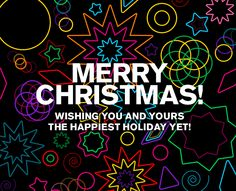 Merry Christmas! Wishing you and yours the happiest holiday yet! #gif #newsletter