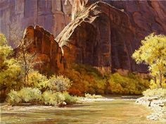 Canyon Light by Mark Haworth Oil ~ 18 x 24