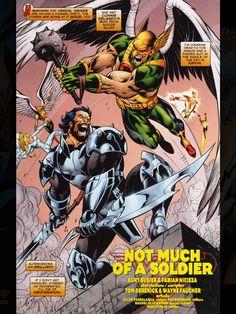 Hawkman vs Vandal Savage