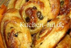 Yeast-snails or even - Kuchen-hit.de