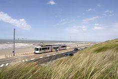 """Cadzand-Online - Küstenstraßenbahn """"De Lijn"""" Deutschlands Infoportal über Cadzand-Bad in Holland"""