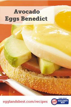 From our friends at Taste of Home #EgglandsBest #Breakfast #EggsBenedict #recipes