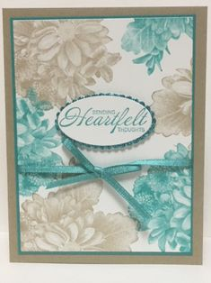 Heartfelt Blooms Stamp Set; FREE during Sale-A-Bration; www.jansstampingcreations.com