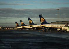Ryanair B737s at Dublin Airport
