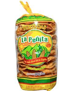 Favorite Yellow Corn Tostada LA PENITA