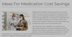 Pediatric Neurologist, Adhd Medication, Adhd Symptoms, Cost Saving, Managing Your Money, Childrens Hospital, Rainbow Baby, Money Matters, Health Insurance