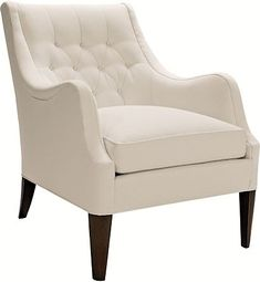 "Ludlow Chair from the 1911 Collection Overall: 34""h x 27""w x 36.5""d Inner Seat Area: (Seat x Width x Depth) 14""h x 19""w x 24.75""d"