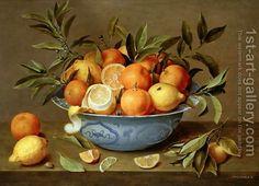 Still-Life-With-Oranges-And-Lemons-In-A-Wan-Li-Porcelain-Dish.jpg (600×434)