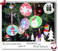 kukibox - galletas para el arbol www.kukibox.com #navidad #galletas #fondant