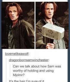 Everyone was able to lift Mjolnir, worthy or not. They didn't include 'only the worthy guy can lift it' in the show.