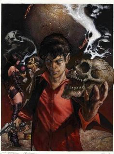 Dylan Dog by Simone Bianchi * Dylan Dog, Supergirl 2015, Pandora, Old Boys, Various Artists, Marvel Comics, Beautiful Pictures, Weird, Horror