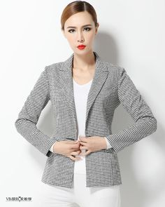 Aliexpress.com: Comprar Pata de gallo mujeres traje chaqueta de 2016 la primavera y el otoño delgado Blazer Feminino moda Ladies Blazer mujeres Formal de la oficina de chaqueta de mickey fiable proveedores en city life No 2